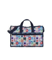 Large Weekender Bags, Duffle Bags, Carry-on, LeSportsac, Exclusive, NY to LA print