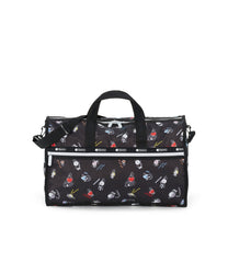 Large Weekender, Line Friends, BTS Duffle Bag, LeSportsac, BT21 Black