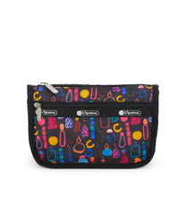 Travel Cosmetic, Accessories, Makeup and Cosmetic Bags, LeSportsac, Adorn print