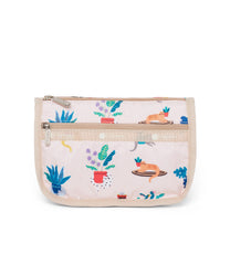 LeSportsac - Travel Cosmetic - Accessories - Comfy Cats print