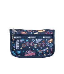 LeSportsac - Accessories - Travel Cosmetic - Neon Nights print