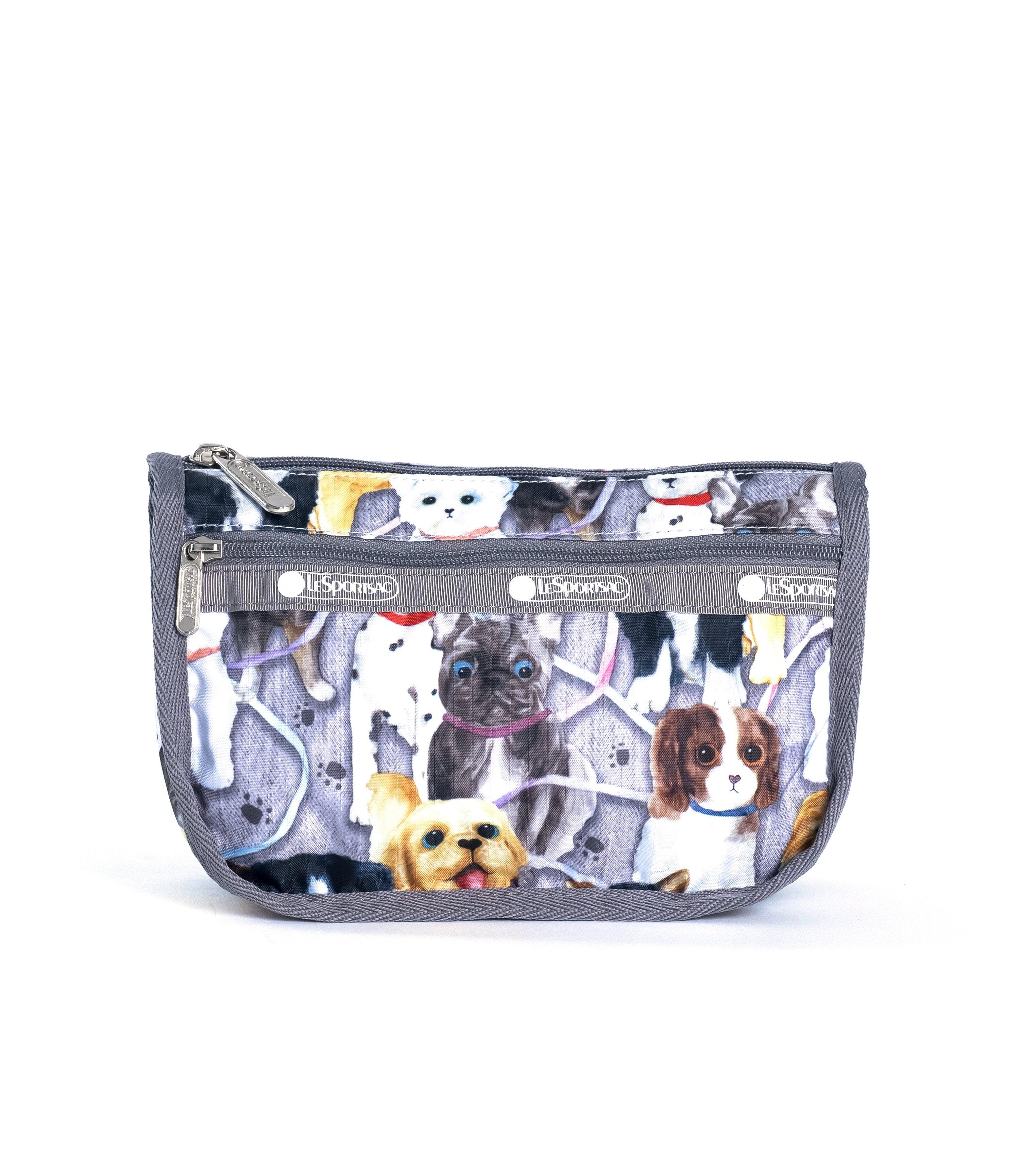 LeSportsac - Travel Cosmetic - Accessories - Puppy Park print