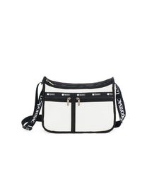Deluxe Everyday Bag, Nylon Handbags and Classic Purses, LeSportsac, Crossbody, Mesh Up White print