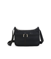 Deluxe Everyday Bag, Nylon Handbags and Classic Purses, Expandable, Crossbody, Mesh Up Black print