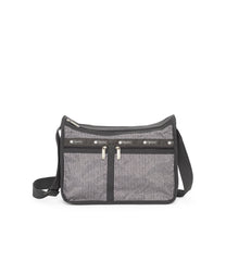 Deluxe Everyday Bag, Nylon Handbags and Classic Purses, Expandable, Crossbody, Tahiti Stripe print