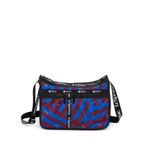Deluxe Everyday Bag, Nylon Handbags and Classic Purses, Expandable, Crossbody, Aerial Twist print
