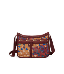 Deluxe Everyday Bag, Nylon Handbags and Classic Purses, Expandable, Crossbody, Cheetaaah print
