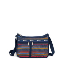 Deluxe Everyday Bag, Nylon Handbags and Classic Purses, Expandable, Crossbody, Stasis print