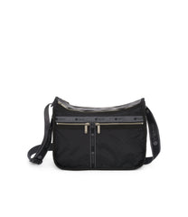 Deluxe Everyday Bag, Nylon Handbags and Classic Purses, Expandable, Crossbody, Heritage Noir