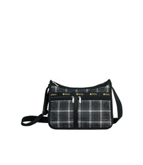 LeSportsac - Handbags - Deluxe Everyday Bag - Sweet Plaid Noir print