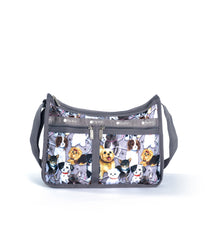 LeSportsac - Deluxe Everyday Bag - Handbags - Puppy Park print