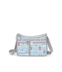 Deluxe Everyday Bag, Nylon Handbags and Classic Purses, Expandable, Crossbody, Day Dreaming print