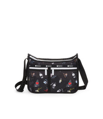 Deluxe Everyday Bag, Line Friends, BTS Handbag and Crossbody, LeSportsac, BT21 Black