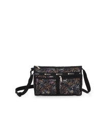 Deluxe Shoulder Satchel, Handbags and Crossbody Bags, LeSportsac, Amaranth print