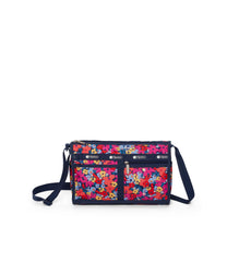 LeSportsac - Deluxe Shoulder Satchel - Handbags - Bright Isle Floral print