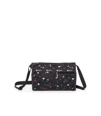 LeSportsac - Deluxe Shoulder Satchel - Handbags - Fruity Petals print