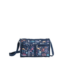 LeSportsac - Handbags - Deluxe Shoulder Satchel - Neon Nights print