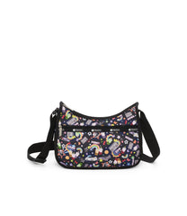 Classic Hobo, Nylon Handbags and Classic Purses, LeSportsac, Yaas print