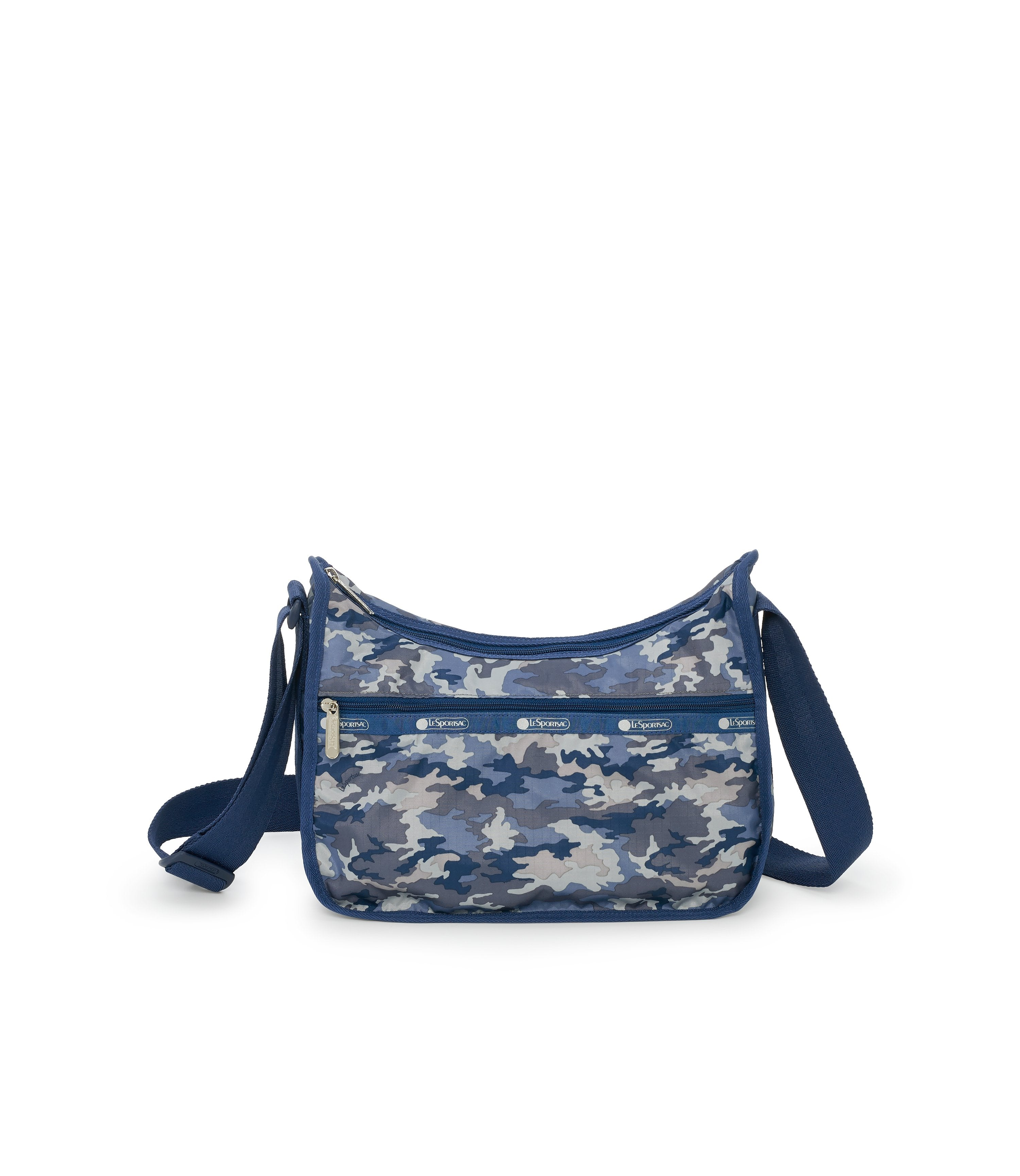 Classic Hobo, Nylon Handbags and Classic Purses, LeSportsac, Camo Blues print