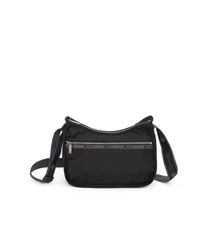 Classic Hobo, Nylon Handbags and Classic Purses, LeSportsac, Heritage Noir