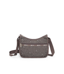 Classic Hobo, Nylon Handbags and Classic Purses, LeSportsac, Autumn Blossom embroidery