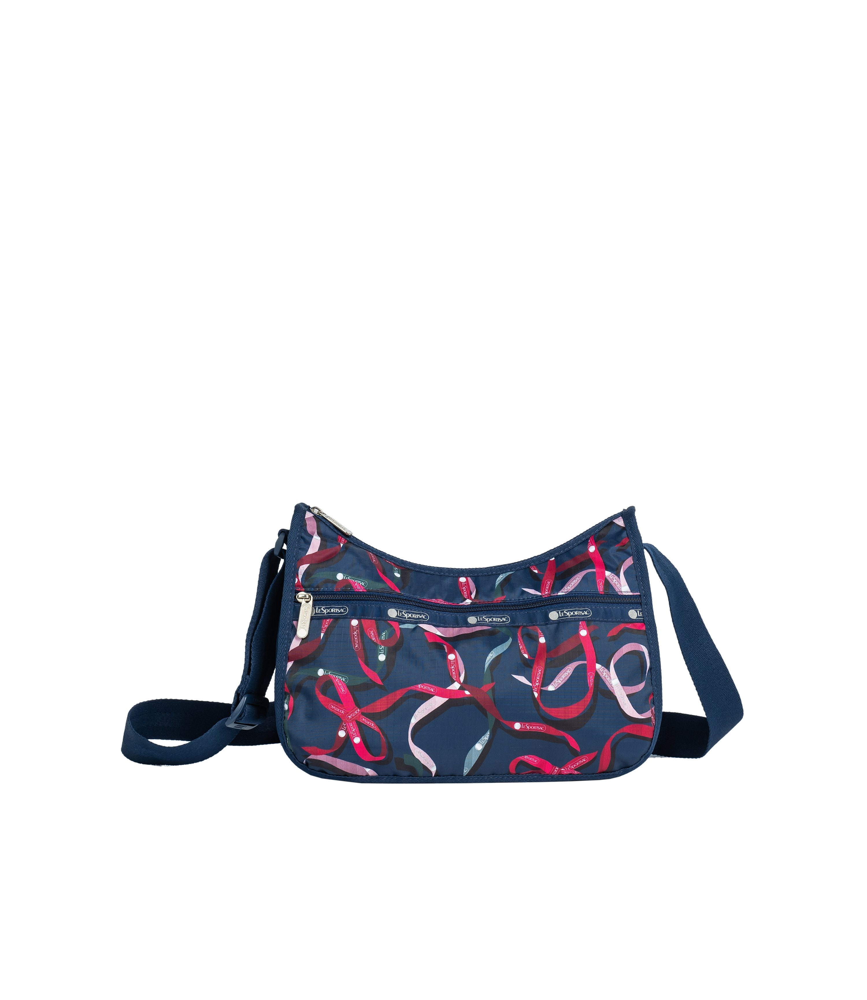 LeSportsac - Handbags - Classic Hobo - Ribbons Navy print