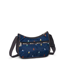 Dick Bruna - LeSportsac Classic Hobo - Handbag - Miffy and Friends - Navy -  Back View