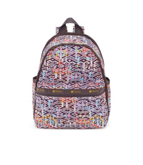 Basic Backpacks, Water Resistant Backpack, LeSportsac, Tulum Sunrise print