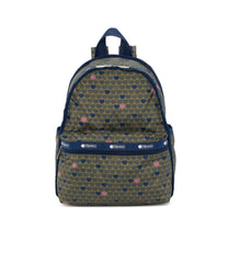 Basic Backpacks, Water Resistant Backpack, LeSportsac, Exclusive! Wait For Love print