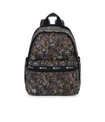 Basic Backpack, Water Resistant Backpacks, LeSportsac, Amaranth print