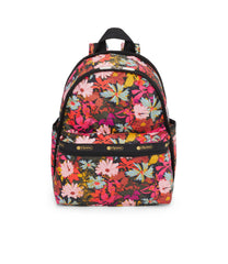 Basic Backpack, Water Resistant Backpacks, LeSportsac, Harmonious print