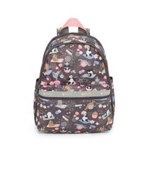 Basic Backpack, Water Resistant Backpacks, LeSportsac, Yoga Pets print