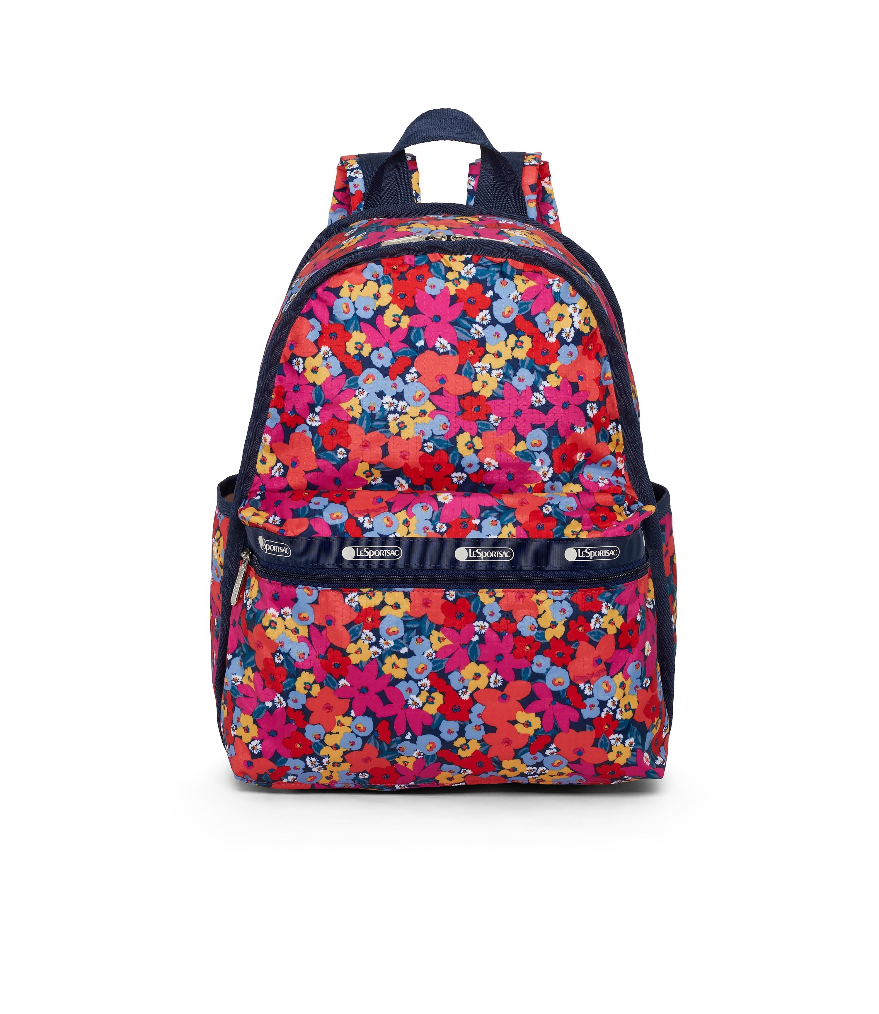 LeSportsac - Basic Backpack - Backpacks - Bright Isle Floral print