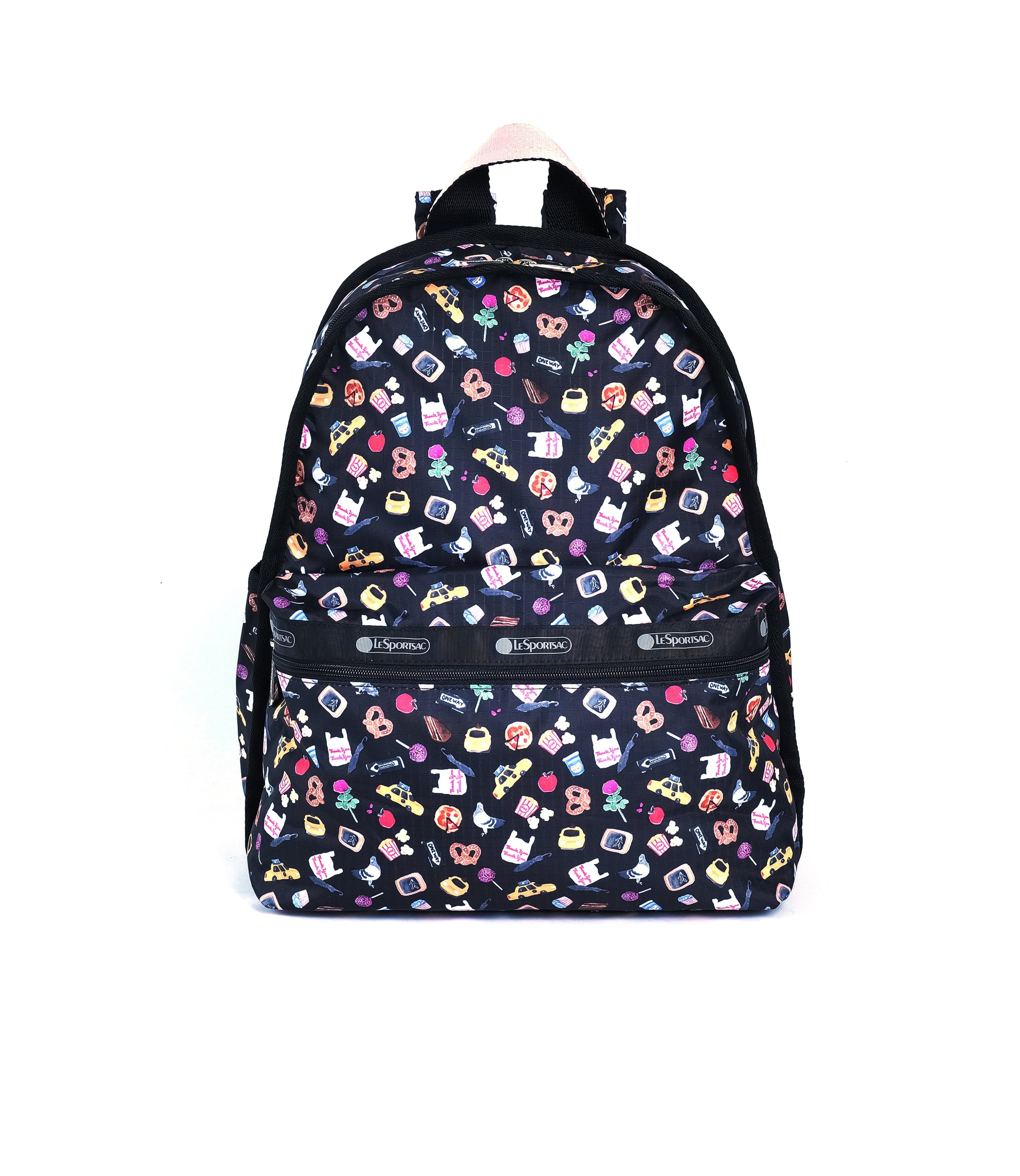 LeSportsac - Basic Backpack - Backpacks - Late Night Slice print