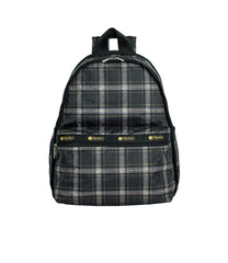 LeSportsac - Backpacks - Basic Backpack - Sweet Plaid Noir print