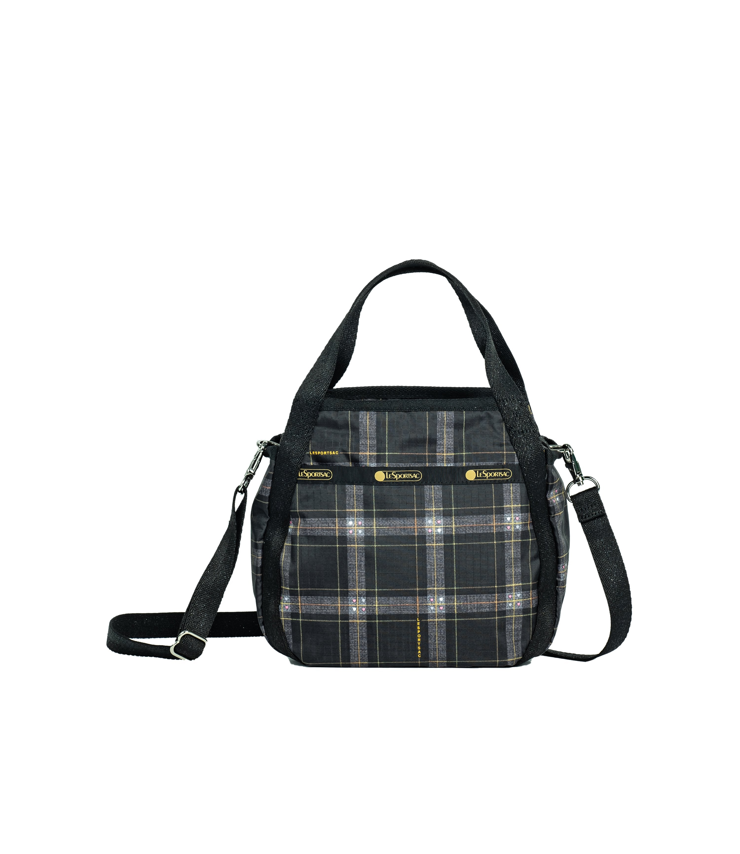 LeSportsac - Handbags - Small Jenni Crossbody - Sweet Plaid Noir print