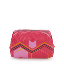 Medium Passerby Cosmetic, Accessories, Makeup and Cosmetic Bags, LeSportsac, Arrow Marker Rose