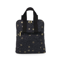 Everyday Backpack, Water Resistant Backpacks, LeSportsac, Black Sand print