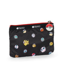 Pokémon Special 3-Zip Cosmetic-LeSportsac-small-PokéBall-Pouch-back