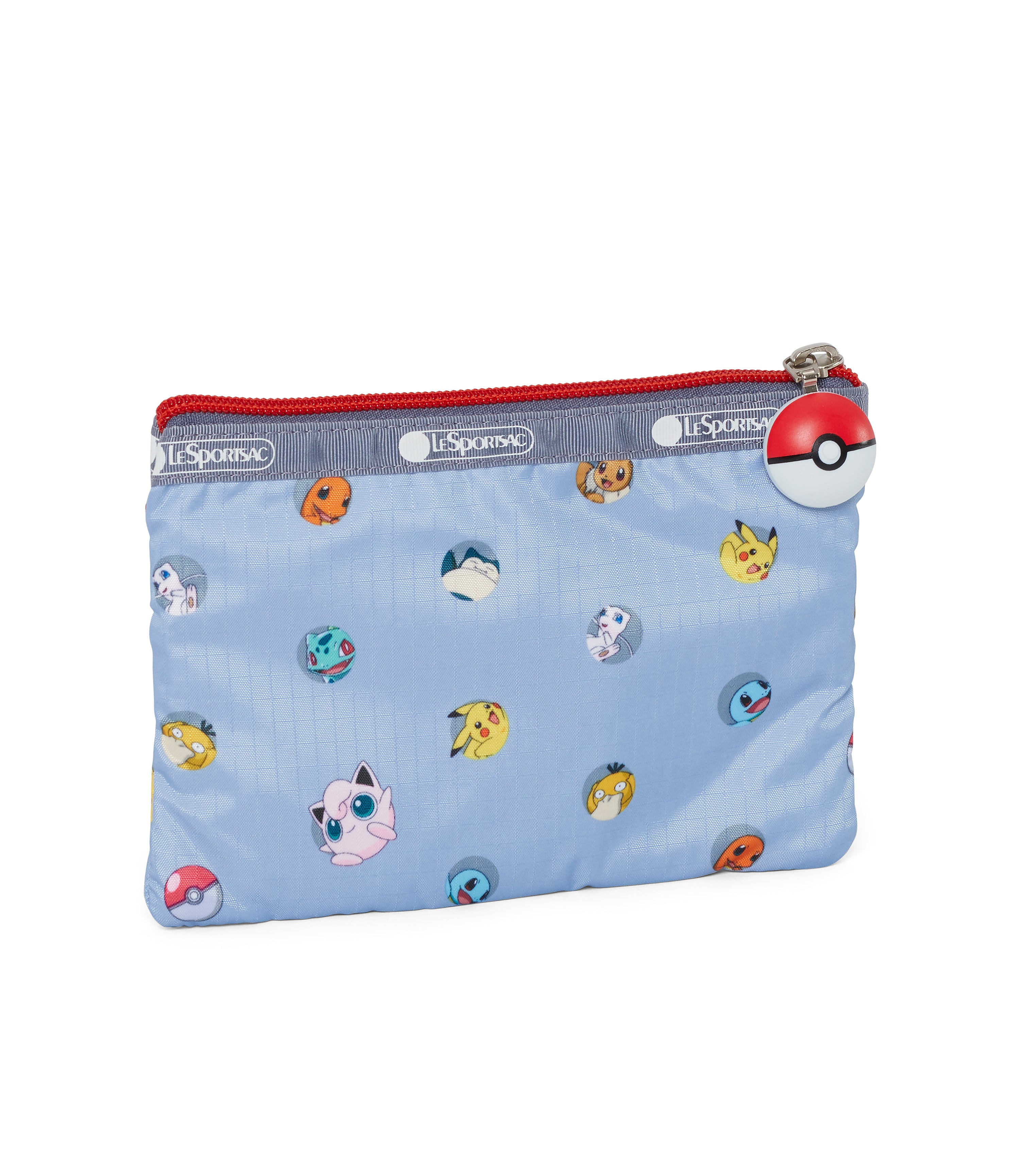 Pokémon - Special 3-Zip Cosmetic - Accessories - Pokémon Dot Lite - Back View