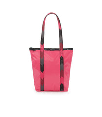 Abstract Daily Tote, Nylon Tote Bags, LeSportsac, Rose Arrow Liquid Patent