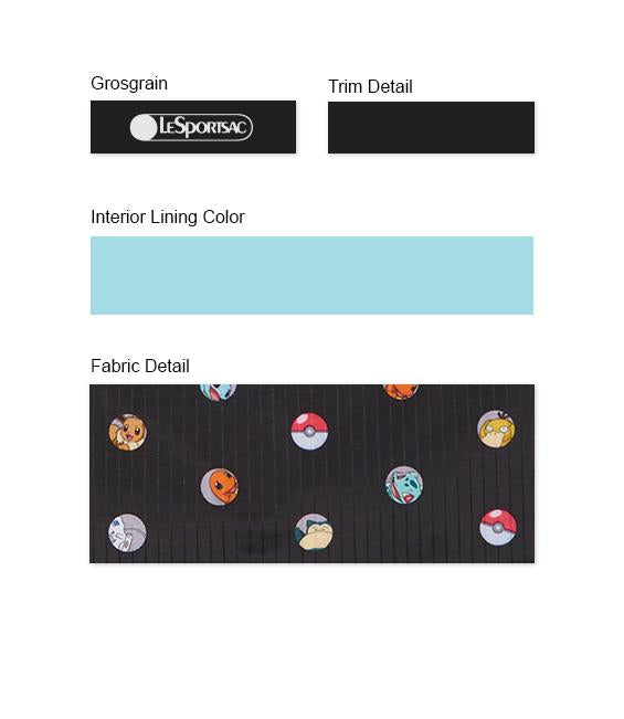 Pokemon - Deluxe Easy Carry Tote - Totes - Pokémon Dot - Trim Details