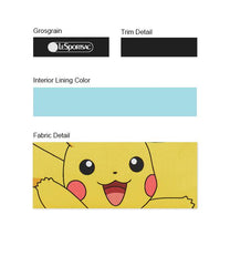 Pokemon - Rectangular Cosmetic - Accessories - Electric-Type Friend - Pikachu- Trim Details