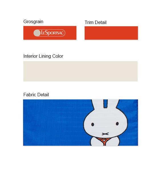 Dick Bruna - LeSportsac Book Pouch - Accessory - Miffy - Trim Details