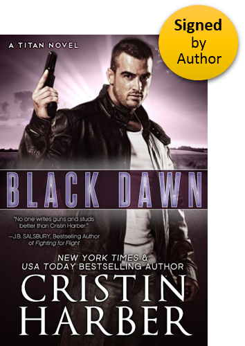 Black Dawn (Titan 8) Paperback Signed by Author
