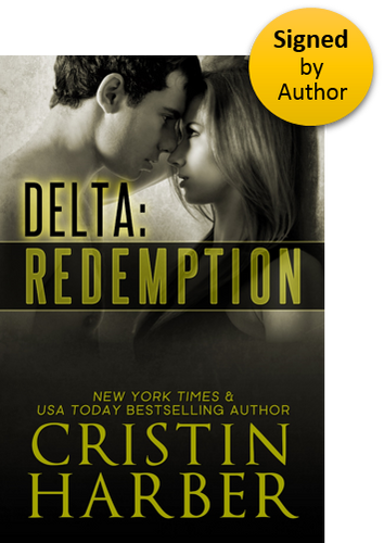 Delta:Redemption (Delta 4) Paperback Signed by Author