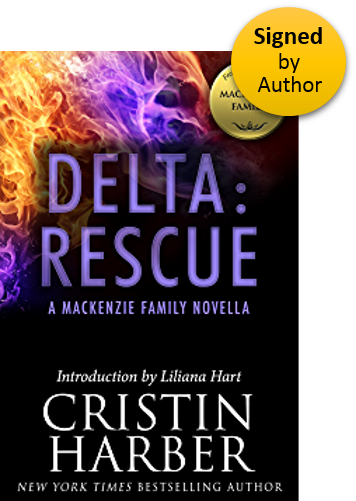 Delta:Rescue (Delta 3) Paperback Signed by Author