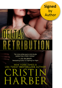 Delta: Retribution (Delta 1) Paperback Signed by Author