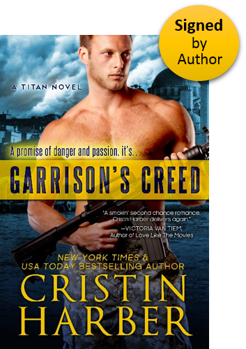 Garrison's Creed (Titan 2) Paperback Signed by Author