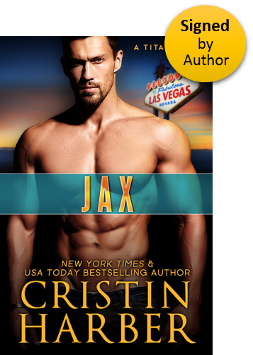 Jax (Titan 13) Paperback Signed by Author